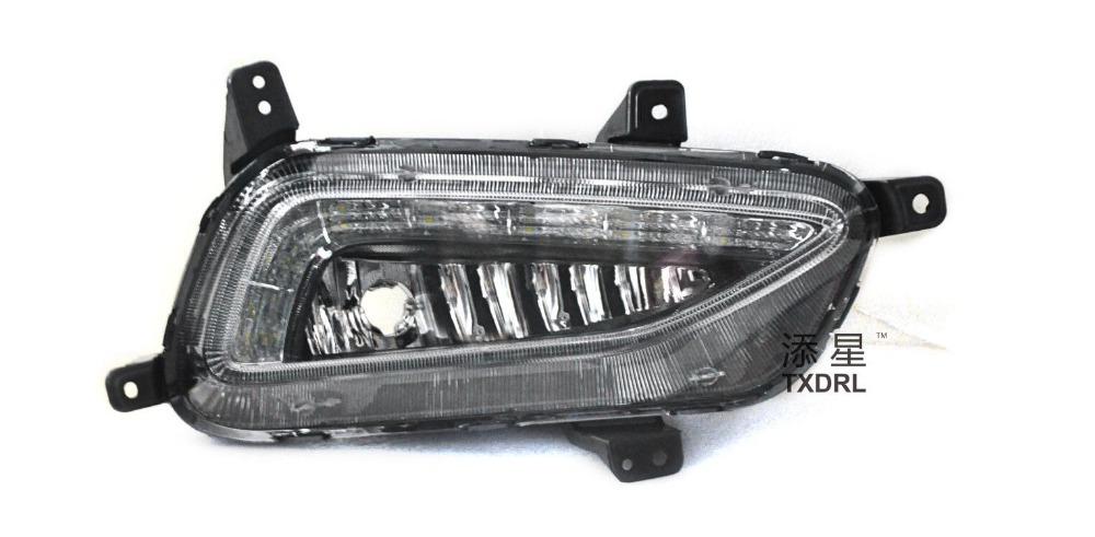 New Arrival Car Specific led Daytime running light For Hyundai Tucson driving light
