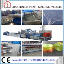 plastic flat yarn making machine for flour bag production line