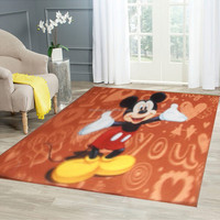 Anti slip waterproof cartoon door mat