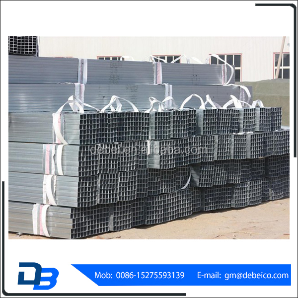 China Factory Supplier Heavy Industrial Square Galvanized Pipe