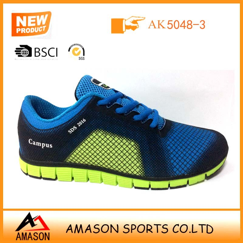 2017 latest design breathable running shoes for man woman