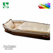 wholesale best price inner lining fabric coffin liners