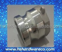 thread cam groove quick coupling type a