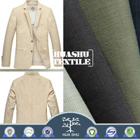 Factory Price Good Quality cotton polyester spandex slub fabric for jacket