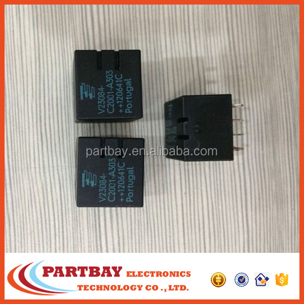 Electronic Components automotive PCB relay V23084-C2001-A303