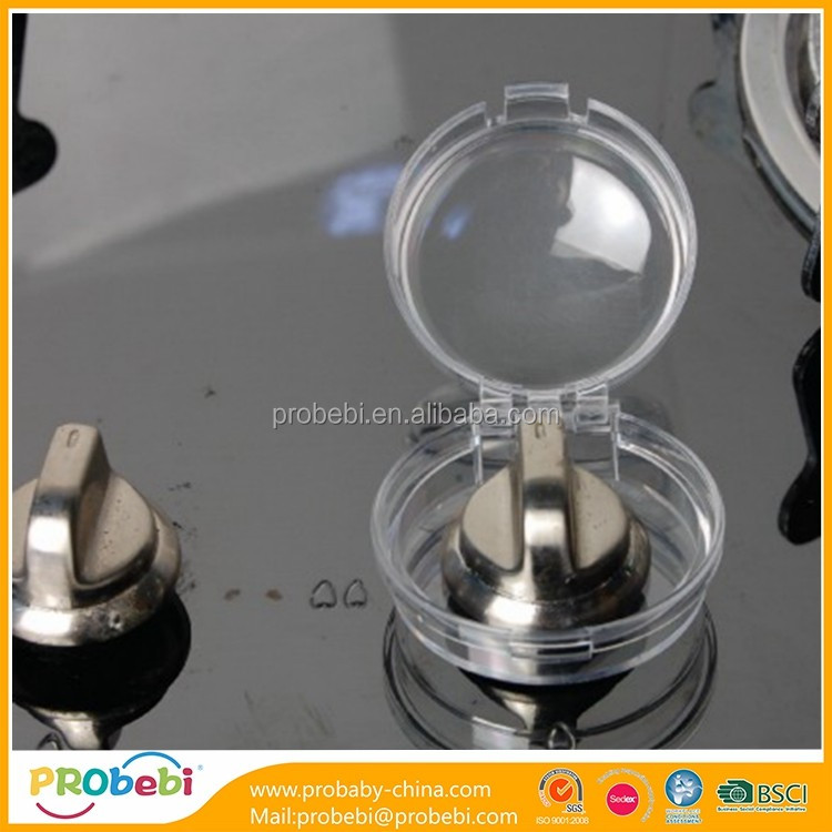 baby safety clear stove knob covers