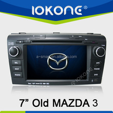Voltage DC 12V car DVD Player support DVB-T ISDB-T car player with gps for old MAZDA 3 before 2010