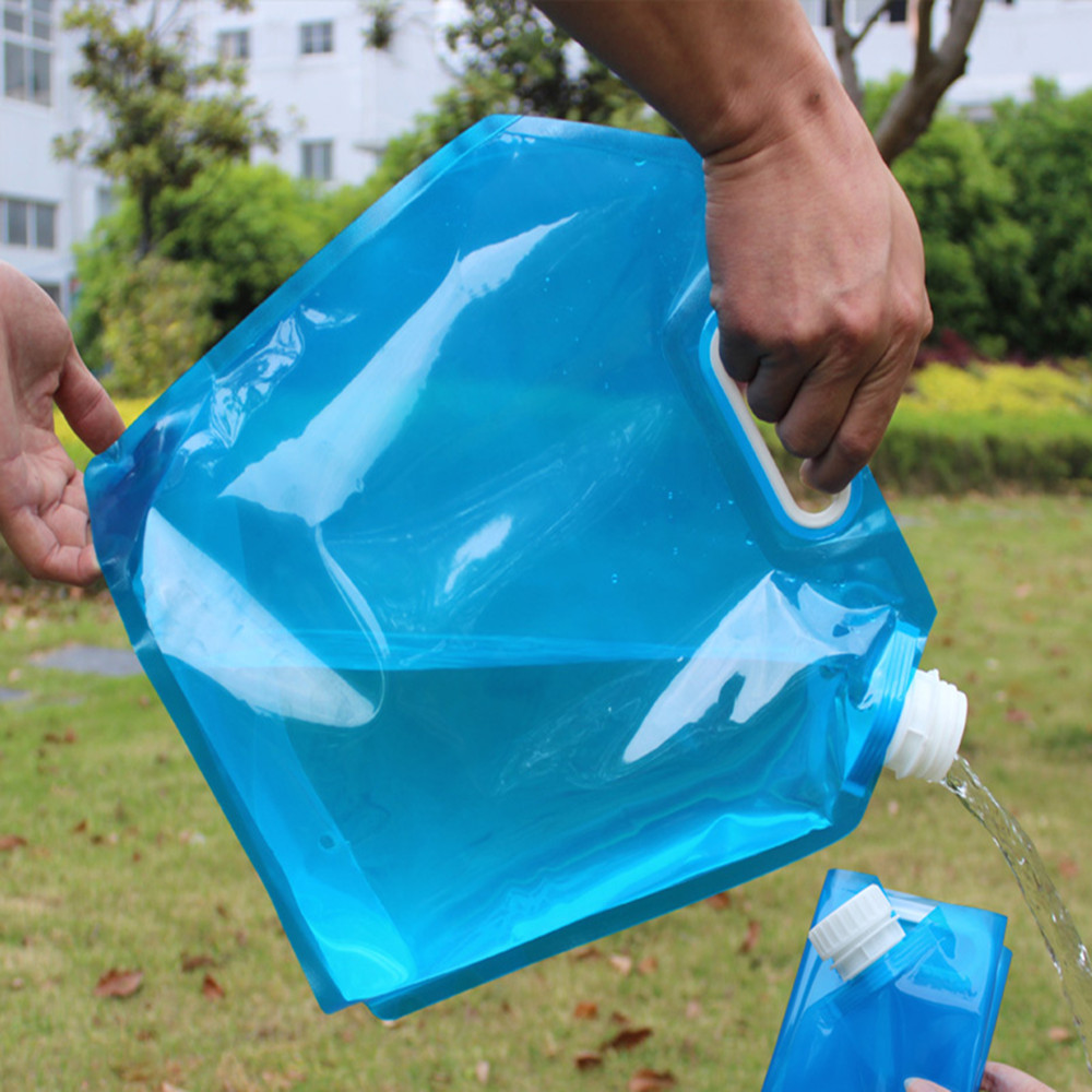 Reusable Foldable Drinking Water Spout Pouch Plastic Bag