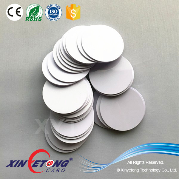 PVC coating FM08 label HF label for memory card