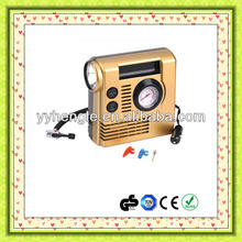 12V 3 in 1 mini car air compressor plastic air compressor