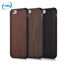 Full 360 Degree Real Wood Protective Back Cover for iPhone 6/6s/7 plus Wooden Phone Case, For iPhone 7 Plus Wood Case
