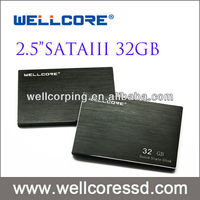 "Wellcore 2.5""SATA3 SSD 32GB solid state drives with R/W speed 550/550MB/s"