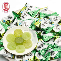 best chinese wholesale beautiful color packing cream mint flavor super drop hard toffee candy