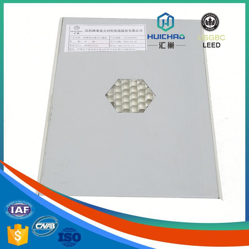 HC/Q China manufacturer best price aluminum honeycomb panel manufacturer