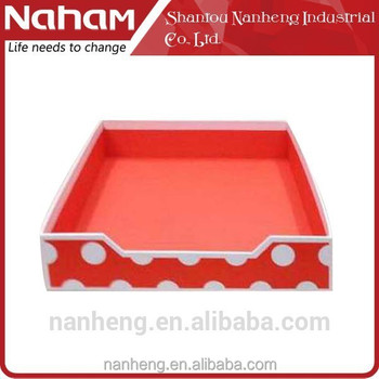 NAHAM colorful desk file document tray organizer