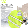 U shape led tube light 1200mm 18w milk cover SMD2835 high qulity 5 years warranty