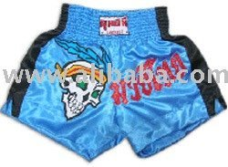 Muay Thai Shorts (Blue-Black)
