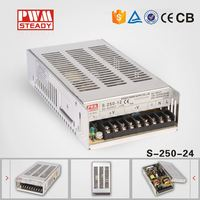 250w 24vdc meanwell Style ac/dc SMPS CE Approved