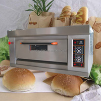 1-Deck, 2-Tray Gas bakery Oven for bread/cake/ tart/meat/biscuit/chicken wing