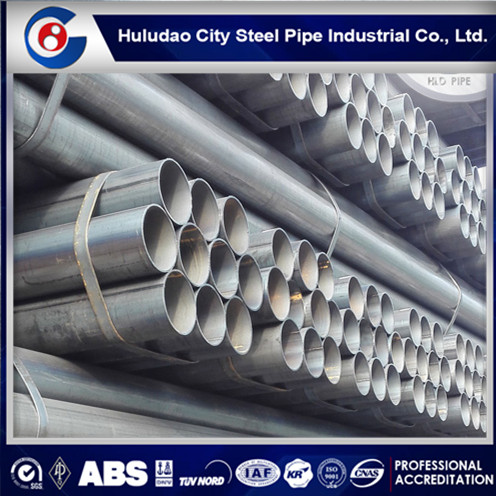 Factory price schedule 40 astm a500 grade b erw steel pipe