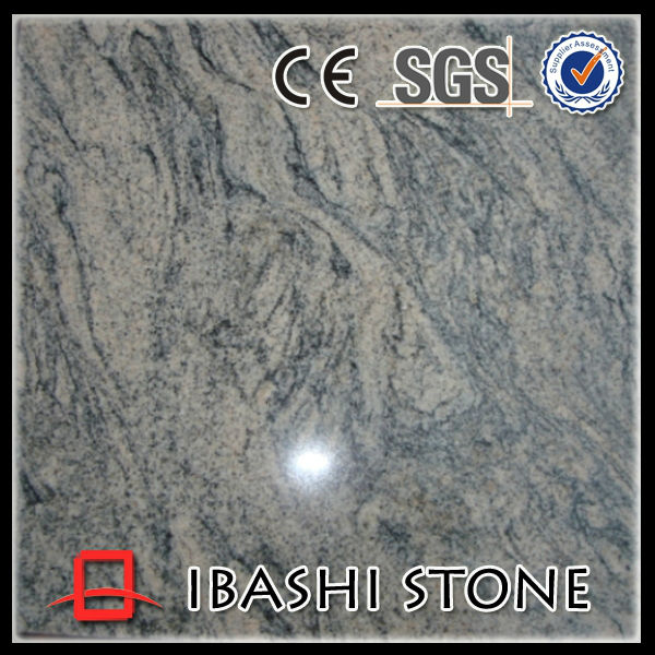 China Yellow granite with Black wave for Background Wall