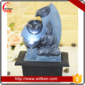 Home tabletop decoration buddha religious water fountain