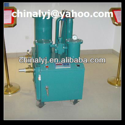 Portable light oil purifier to filtrate diesel oil series