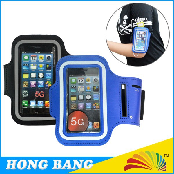 Custom logo waterproof dustproof cell phone sport armband