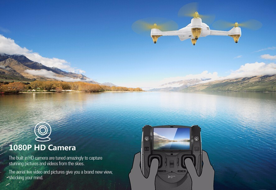 Control Toys Hubsan H501S X4 FPV drone RC quadcopter 1080P camera GPS Follow me home return drones Radio