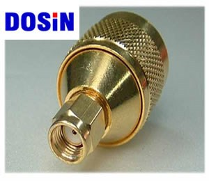 RF Components audio & video application N type female connector to rp sma male connector
