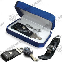 Customized leather usb flash drive with gift box