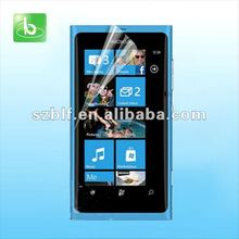 High quality PET material crystal clear screen protector for nokia lumia 1520