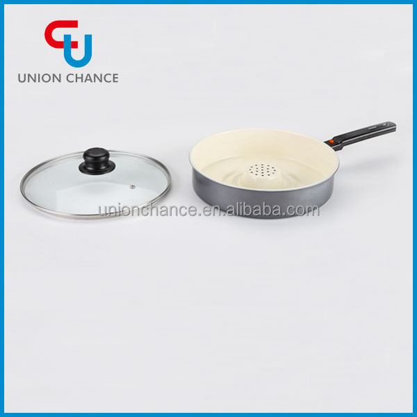 New Pattern Non-Stick Dry Frying Pan