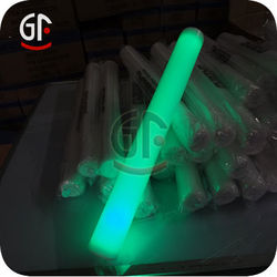 Manufact Green Color Toggle Type PET Film With Led Foam Stick