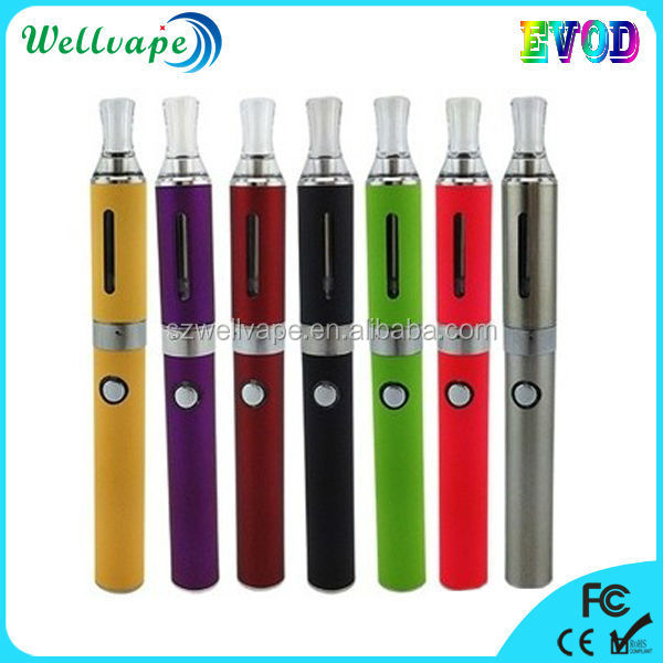 High quality wholesale evod electronic cigarette push button