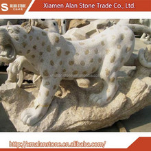 Stone Animal Carving Status For Garden Decoration
