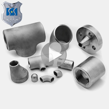 Good quality copper reducing tee dimensions stainless steel pipe fitting / elbow reducer bend