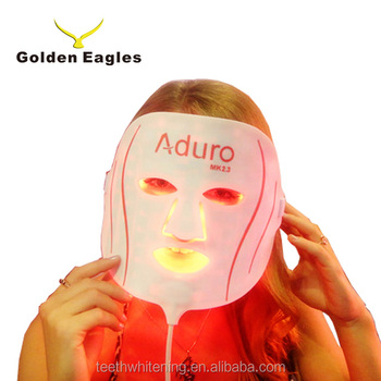 led light therapy skincare facial mask