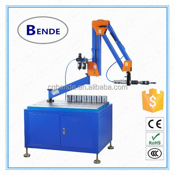 2 meters working radius of pneumatic tapping machine M3-16