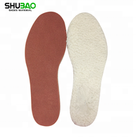 Genuine wool warm antibacterial shoes insole