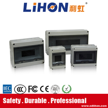 24 way 57*37*57.5 size IP 65 full plastic water proof electric distribution box