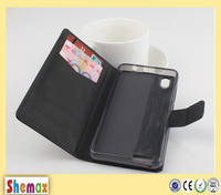 New Genuine Leather Wallet Case Cell Phone Flip Cover for Lenovo a3900
