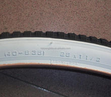 28x1 1/2 bicycle tyre and tube factory price white wall 26x1.95 53-559 bike tyre