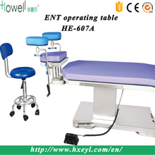 HE-607A electrical hydraulic surgical ENT operation table