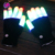 Creative Christmas&Halloween Gift Flashing Finger LED Light Motorcycle Cycling Gloves