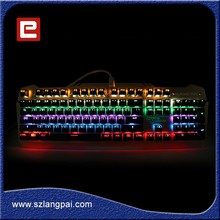 2016 WCA Brand Prodcut Game Gear Keyboard Compact Mechanical Keyboard