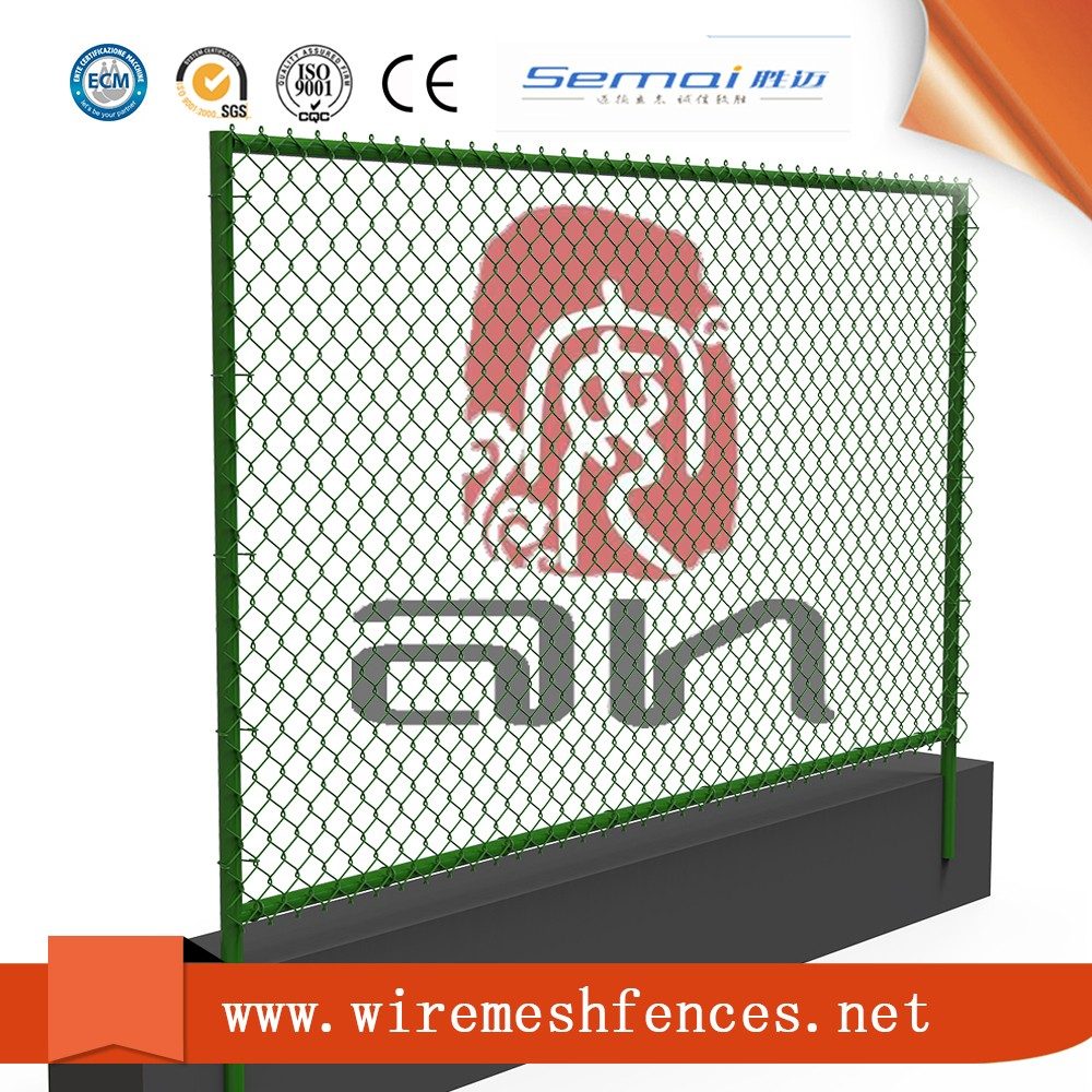 Used plastic covering for chain link fence factory