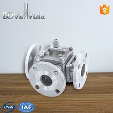 3 way L/T type motorized ball valve for Water equipment