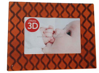 popular acrylic custom 3d effect photo frame