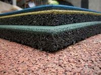 Safety Rubber 2014 Outdoor Playground Rubber Mats